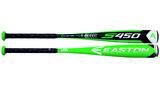 YBB18S4508 - Easton S450 2 5/8 Youth Baseball Bat (-8)_