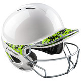 H4S - Champro Two-Tone GEM Gloss Performance Batting Helmet with Facemask_