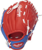 PL91SR - Rawlings Players 9 inch Baseball/Softball Glove with Soft Core Ball (RHT)_