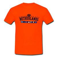 Kingdom Team Polyester T-Shirt Orange