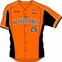 Kingdom Team Game Jersey Orange