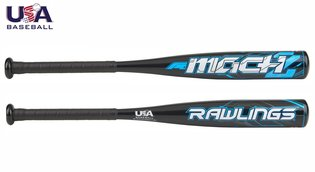 US8M11 - Rawlings Mach Youth USA Baseball Bat -11OZ 27