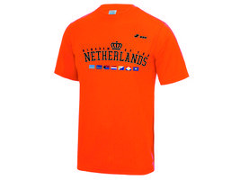 KingShirt04 - Kingdom Team Dry Gear Shirt 'Kingdom Orange'