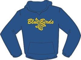 Blue Birds Hoodie