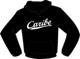 Caribe Hoodie Zwart