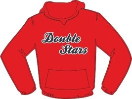 Double Stars Heiloo Hoodie Rood