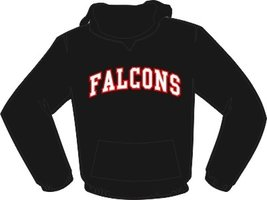 Falcons Hoodie Zwart