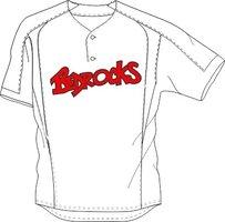 Bedrocks Jersey SB White
