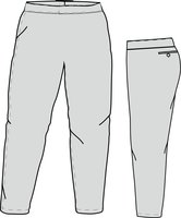 PA SI LADIES (GREY) - Special Ladies Cut Softball Pant