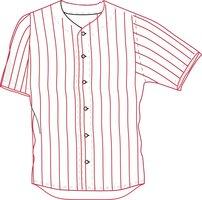 JE PIN - Baseball/softball jersey pinstripe