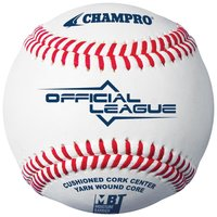 CBB300 - Champro Official League Leren Honkbal