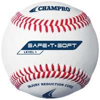 CBB-61 - Champro Safe-T-Soft - Level 1 Synthetic Baseball