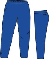 PA SI LADIES (ROYAL) - Special Ladies Cut Softball Pant