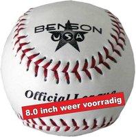 BUSA80H - Benson USA 8 inch Leren BeeBall