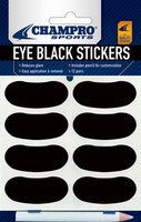 A032 - Champro Eye Black Stickers