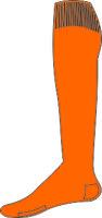 Oranje kousen
