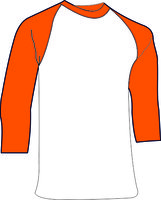 Oranje Ondershirt 3/4 mouw Katoen