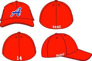 Almere '90 FLEX CAP Rood