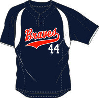 Braves Practice Jersey