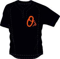 Orioles BP Jersey Mesh