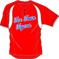 Tex Town Tigers Practice Jersey