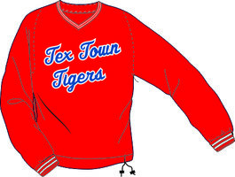 Tex Town Tigers Windbreker