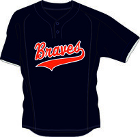 Braves BP Jersey Mesh