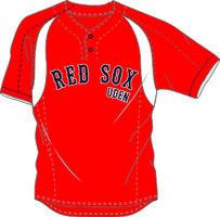 Uden Red Sox Practice Jersey