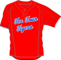 Tex Town Tigers BP Jersey Mesh