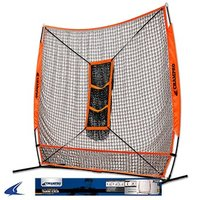 NB35 - MVP Portable Training Net with TZ3 Training Zone - 7' X 7'