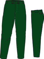 PA GO (Dark Green) - Gold Quality Baseball/Softball Pant