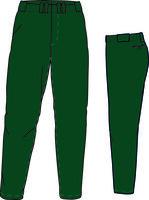 PA GO (Dark Green) - Gold Quality Baseball/Softball Pant
