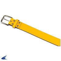 A063GO - Champro Gouden Lederen Riem (geel)
