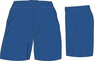 Blue Socks Short