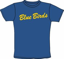 Blue Birds T-Shirt