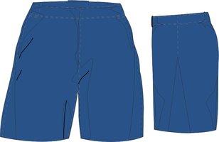Blue Hawks Short