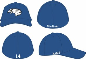 Blue Hawks Sized Woolcap