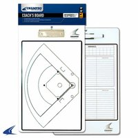 A091 - Champro Baseball / Softball Coach's Board - Dry Erase with Marker