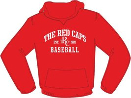 Red Caps Baseball Hoodie