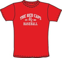 Red Caps Baseball T-Shirt