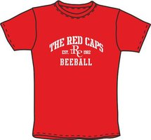 Red Caps Beeball T-Shirt