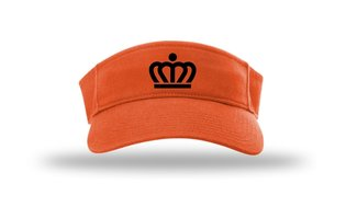 KingCapR45Kr - Richardson Kingdom Visor Kroon