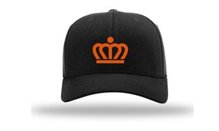 KingCapFlexSSKKr - Kingdom Team Flex Cap Black Kroon
