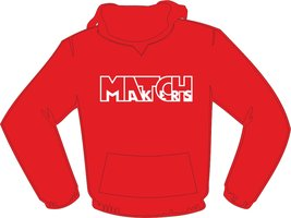 Matchmakers Hoodie Red