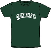 Green Hearts T-Shirt
