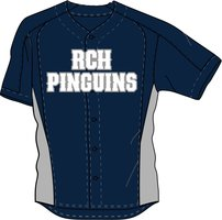 RCH-Pinguïns Jersey Thuis-tenue