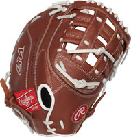 R9SBFBM-17DB - Rawlings R9 Series 12.5 inch Fastpitch 1st Base Mitt (RHT)