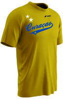 curacao 01 polyester supporter T-shirt speciale aanbieding 100% DRY GEAR