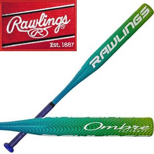 FP70M11 - Rawlings Ombre Alloy Fast Pitch Softball Bat -11