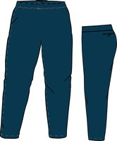 PA SI LADIES (NAVY) - Special Ladies Cut Softball Pant